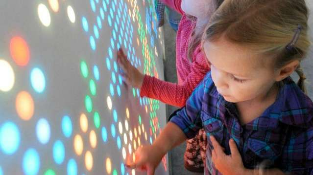 Nebula Interactive Wall for Active Play and Fun