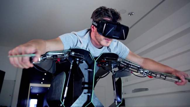 Hypersuit VR Simulator Immerses Users in Extreme Experiences