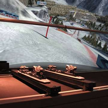 Olympic Sochi Downhill Available for SkyTechSport Ski Simulator