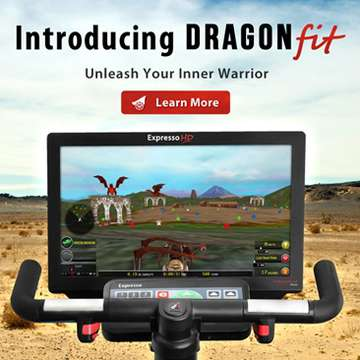 Dragon Fit Immerses Cyclists into Fantasy Worlds