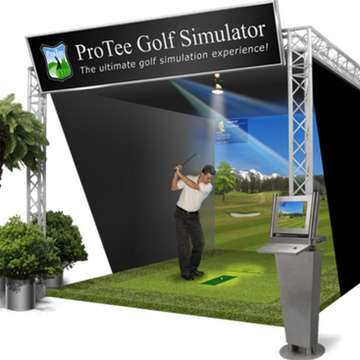 ProTee Golf Simulator Offers Unparalleled Experience of Golf Indoors