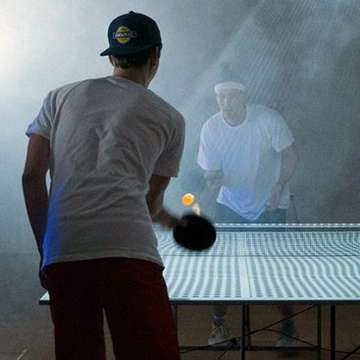 Table Tennis Trainer Turns Ping Pong Table into Interactive Gaming Interface