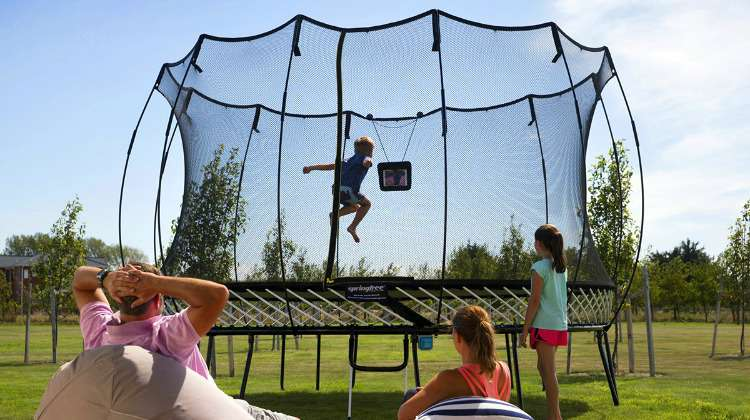 Springfree Smart Trampoline Passes 30 Million Jumps