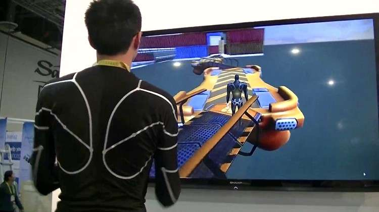 E-Skin Smart Motion Capture Shirt Delivers Immersive Experiences and Motion Analytics