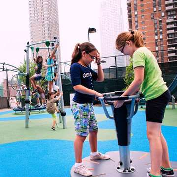 Icon Electronic Playgrounds Combine Active Outdoor Play with Interactive Gaming