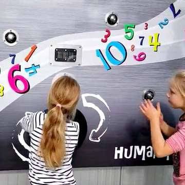 GameWall Inspires Active Outdoor Play