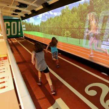 SportsZone Exhibition Illustrates Science of Sports Through Immersive Games